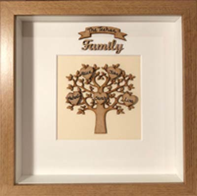 """""""Family Tree Personalised Frame"""""""