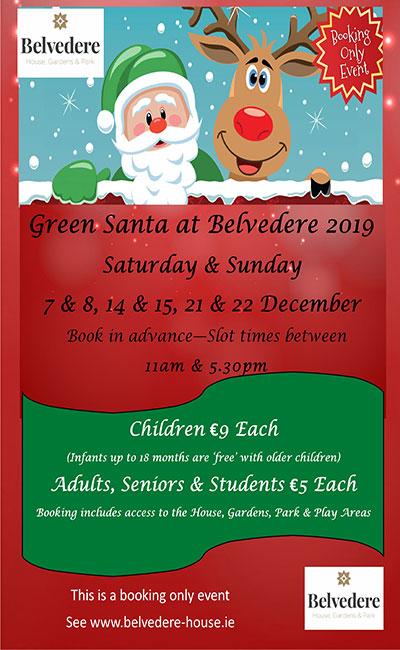 """""""Visit Santa at Belvedere House Gardens & Park"""""""