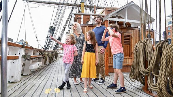 """Jeanie Johnston Tall Ship"""