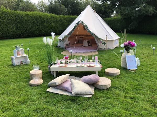 """Dream Teepee Glamping Parties"""