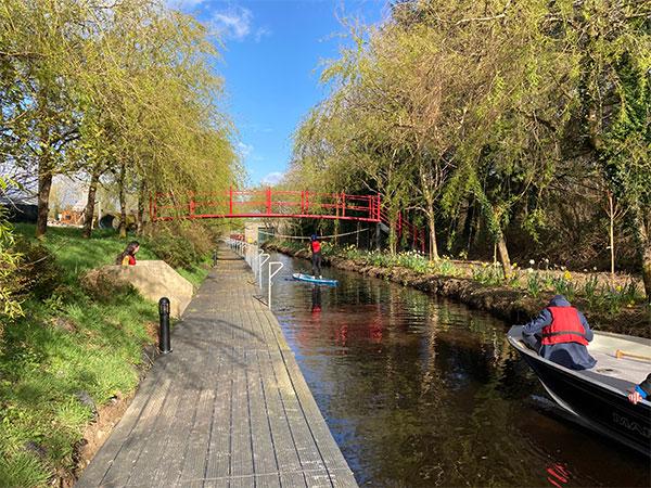 """Canal at Derg Isle Adventure Park"""