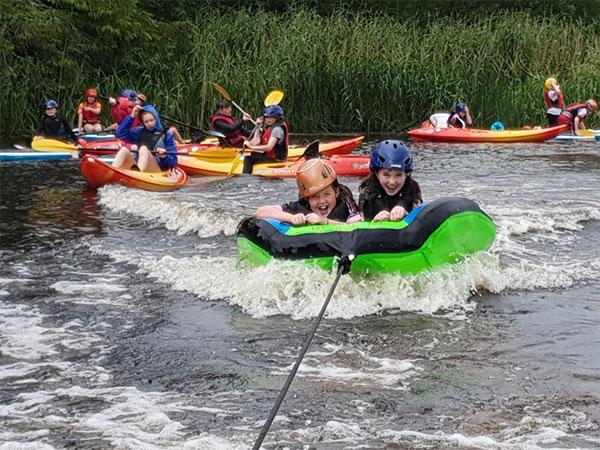 """""""Kids Watersports at Derg Isle Adventure Centre"""""""