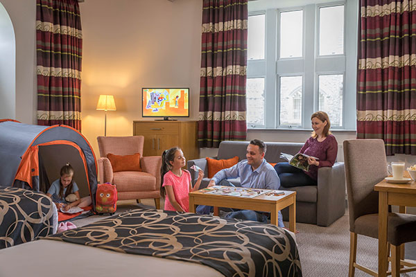 """""""Clayton Hotel Leopardstown Family Room"""""""
