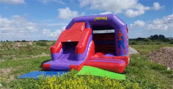 """Cork Spiderman Bouncy Castle"""