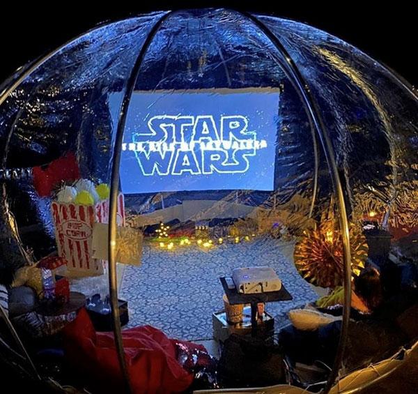 """Dream Teepee Starwars Dome Parties"""